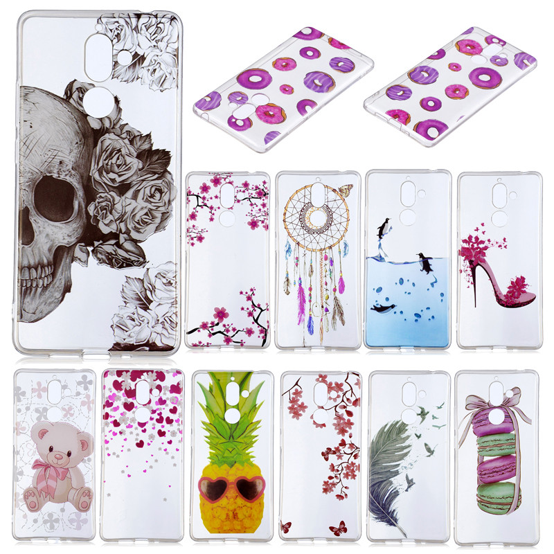 SuliCase For Nokia 7 Plus TA 1046 TA 1062 Case Anime Silicon TU Skin Back Cover for Nokia7 Plus TA 1046 1062 Soft Protector in Fitted Cases from Cellphones Telecommunications