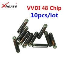 10-50 pces melhor preço id48 chip para xhorse vvdi2 48 transponder copiadora