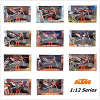 Automaxx/1:12 Scale/Plastic Toy Model motorcycle Toy/KTM 250 350 450 Supercross Red Bull Team Motorcross/Collection/Gift