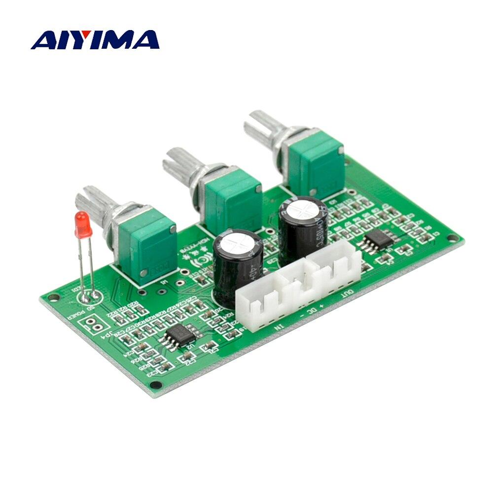 AIYIMA NE5532 HIFI Lossless אודיו טרבל בס התאמת טון נפח בקרת לוח עבור דיגיטלי מגבר פעיל רמקול