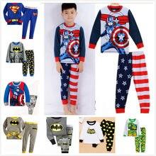 f610b755044da Pyjamas Enfants sommeil pantalon pas cher livraison gratuite manches  longues enfants ensembles pour filles garçons bébé