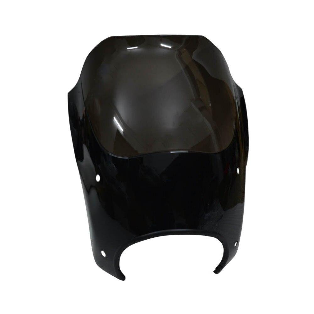 Дым лобовое стекло фара обтекатель оттенков пуля с курка комплект для монтажа Harley Touring Road King Custom Classic flhrc