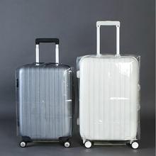 PVC Transparent Wasserdicht Gepäck Schutzabdeckung Reise Trolley Koffer Staubbeutel Fall Zubehör Liefert Produkte