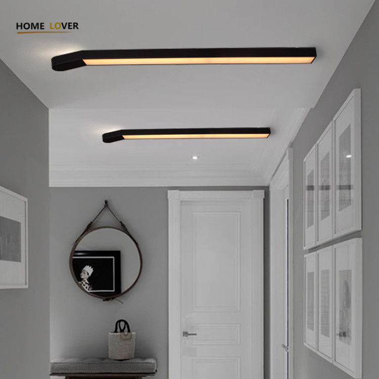 Hallway ceiling light for indoor home lighting Match Creative shape