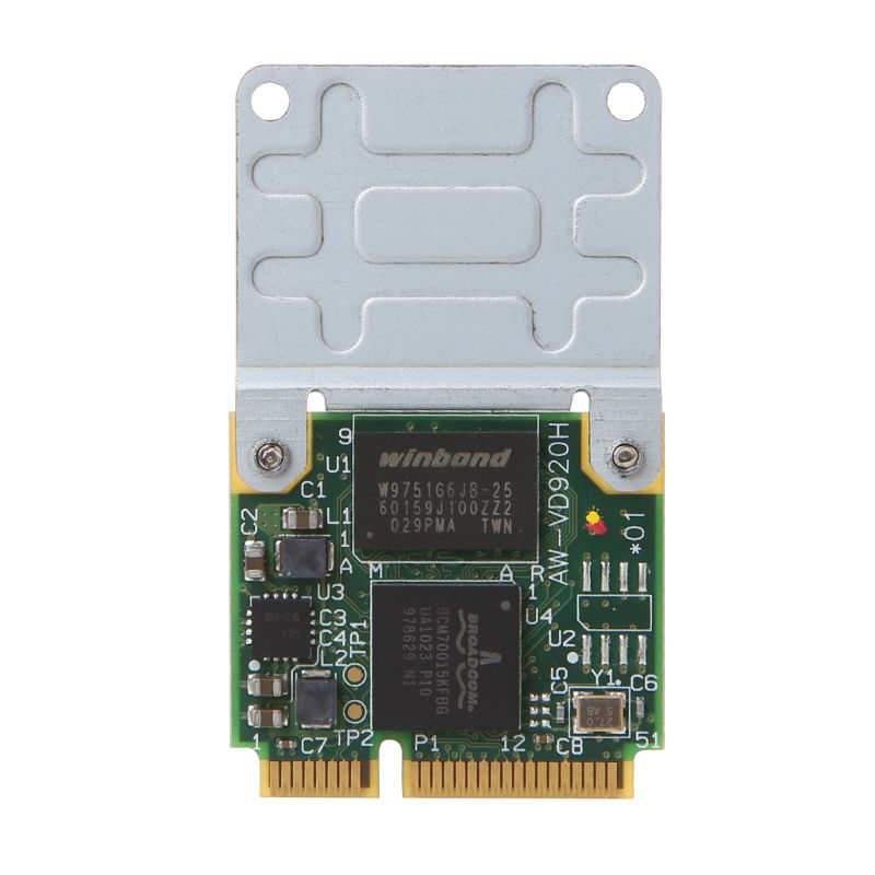 BCM970012 BCM70015 Crystal HD Decoder Card AW-VD920H Mini PCIE Card For APPLE TV Notebooks
