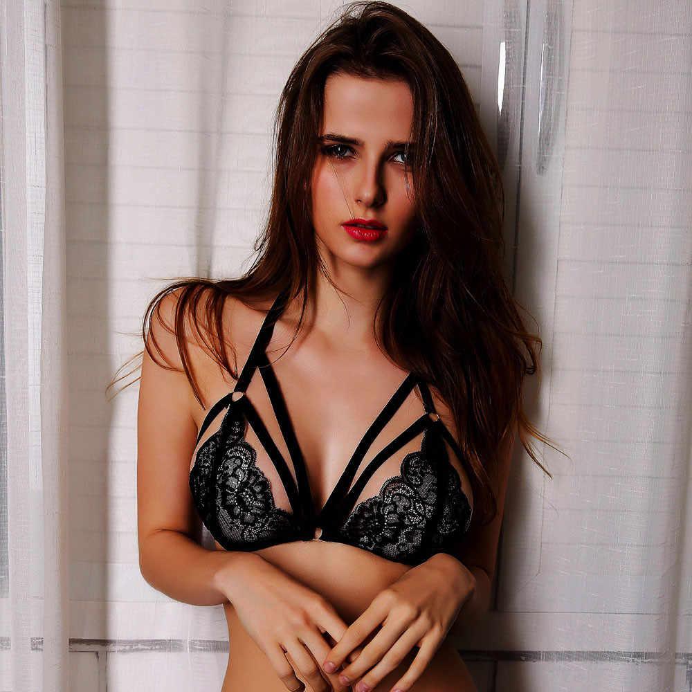 Lsexy Dantel Iç Çamaşırı Seksi Iç Çamaşırı Artı Boyutu Bandaj Dantel Bralette Büstiyer Kırpma Üst Porno Seksi Iç Çamaşırı Erotik Elbise Için Seks d5