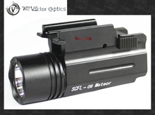 Vector Optics Meteor Tactical Compact Pistol Flashlight 200 Lumen Weapon Light with 20mm Quick Release Mount fit for GLOCK 17 19