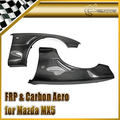 Car-styling Carbon Fiber Front Wider Vented Fender +20mm Fit For Mazda MX5 NA6 NA8 JDM