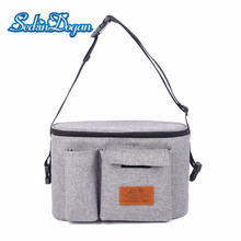 SeckinDogan Baby Stroller Bag  Baby Stuff Nappy Bag Stroller Organizer Diaper Bag Multifunctional Waterproof Mummy Bags
