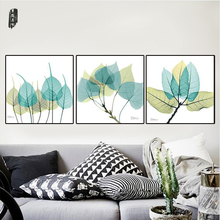 Canvas Art Sets Modern Canvas Painting Plant Wall Art Modular Home Decoration Posters and Prints Nordic for Living Room