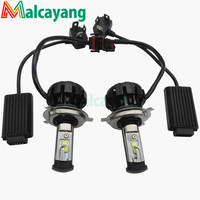 Newest V18 Turbo Type C Chips Led Headlight Fog Lamp H1 H4 H7 H13 Lighter 30W