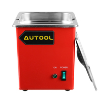 Autool CT100 1000ML Ultrasonic Cleaner Petrol injector Spark Plug Coke Clean for Launch CNC602A Cleaner Petrol injector