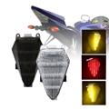 SPEEDPARK мотоцикл задний фонарь задний тормоз поворотные сигналы интегрированная Светодиодная лампа дым для yamaha fz1 YZF R6 2008-2012