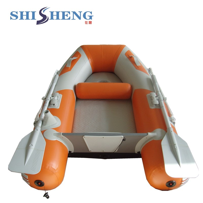Bateau de vitesse en aluminium de PVC de bateau gonflable bon marché avec le certificat de la CE