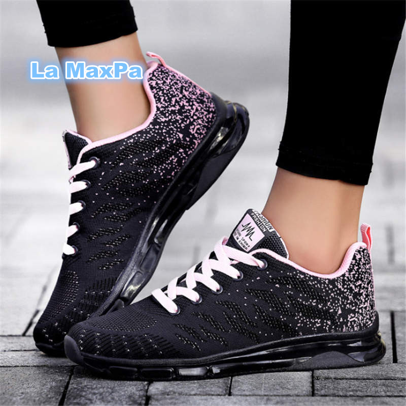2018 sneakers women quality Running shoes for Women Air damping women mesh sport shoes woman jogging Trainers chaussures femme in Running Shoes from