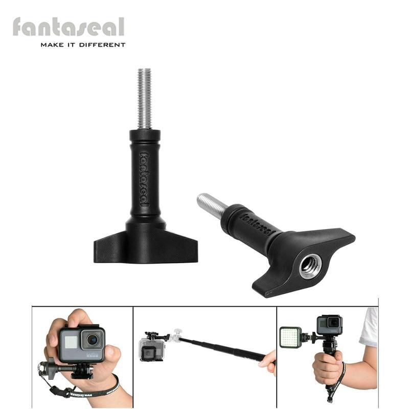 """Fantaseal Monti Kit per GoPro Mount Alluminio Thumb Knob Vite bullone strumento chiave per gopro hero serie tomtom bandit sjcam"""