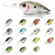 wLure 10cm 17.5g 4 Meters Depth Tight Swimming Action 2 #4 Hooks Winter Deep Fishing Fat Lure Body Assorted Colors Baits C628