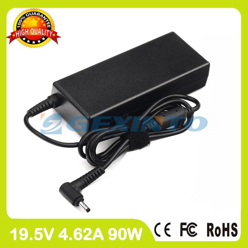 Adaptador de corrente alternada 19.5 v 4.62A 15 90 w carregador portátil para Dell Vostro 5560 5560D 5560R 5570 0Y4M8K CT84V LA90PM111 PA-1900-32D4