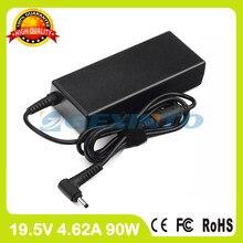 Adaptador ac 19.5v 4.62a 90w carregador portátil para dell visor 15 5560 5560d 5560r 5570 «ct84v la90pm111 PA-1900-32D4