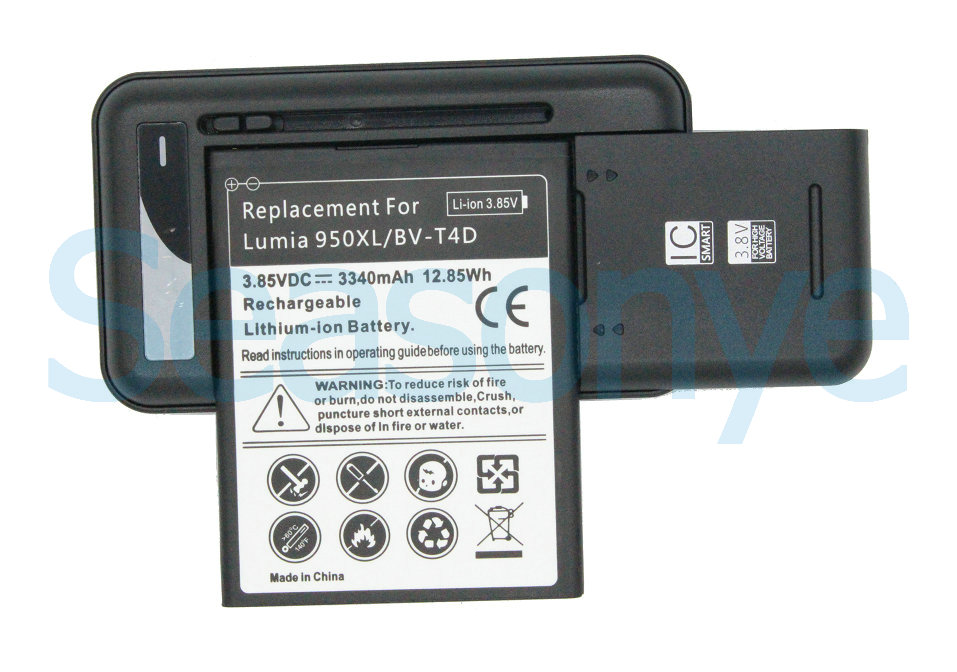 3340 мАч/12.85wh bv-t4d/bvt4d Замена Батарея + Универсальный Зарядное устройство для Microsoft Nokia <font><b>Lumia</b></font> <font><b>950</b></font> XL 940 XL rm-1118 rm-1116