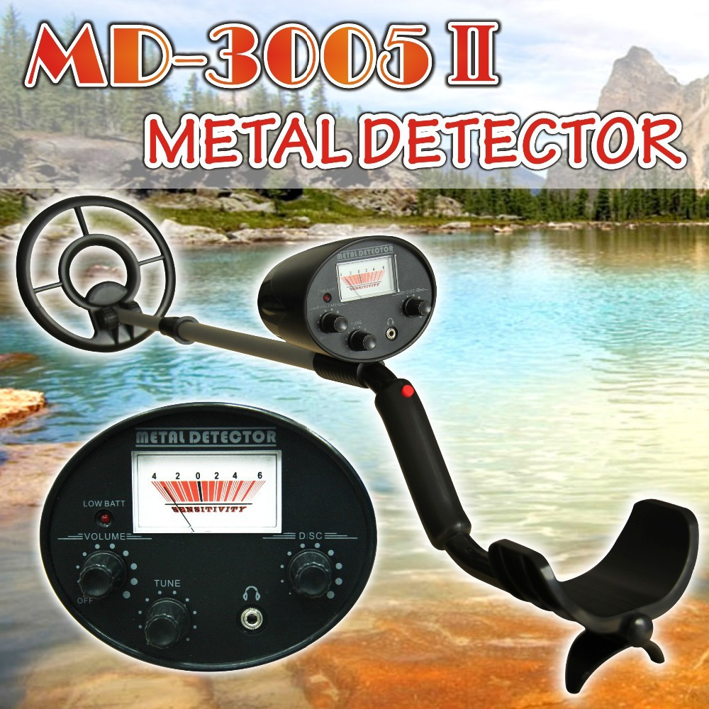 Free shipping! MD-3005II Digger Treasure detecting depth Waterproof <font><b>metal</b></font> detectors