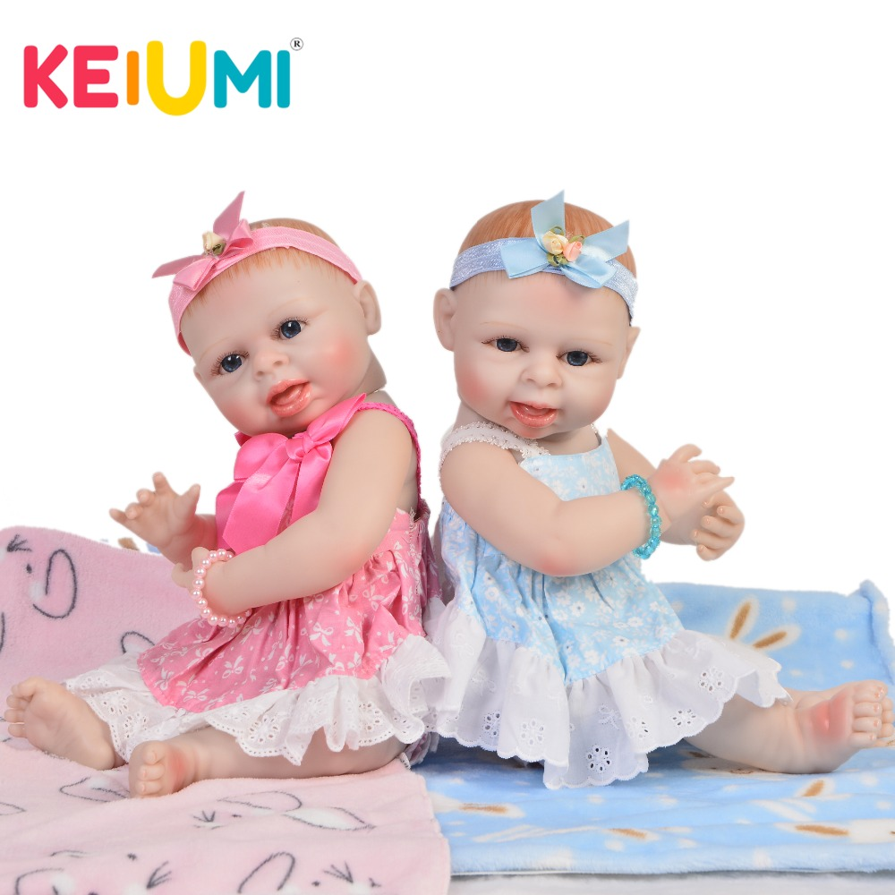 New Arrival 19'' 45 cm Silicone Reborn Dolls Full Vinyl Fashion Realistic Baby Girl Doll Twins Kids Christmas Gift Best Playmate truly 20 reborn baby dolls full body silicone vinyl realistic simulation girl and boy twins babies dolls fashion kids playmate
