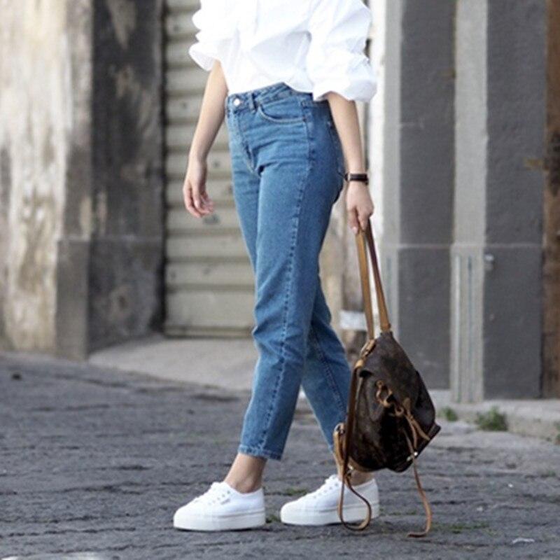 Popular High Waisted Boyfriend Jeans-Buy Cheap High Waisted ...