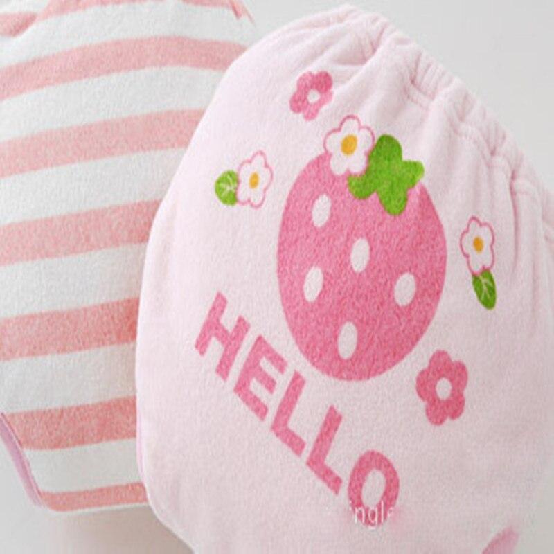 2st / lot 6 lager återanvändbar baby träning shorts spädbarn - Blöjor och potträning - Foto 4