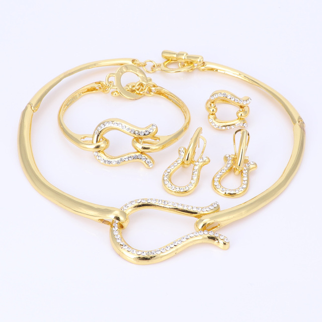 Фото ouhe винтажные золотые серебристые цветные с кристаллами свадебные цена