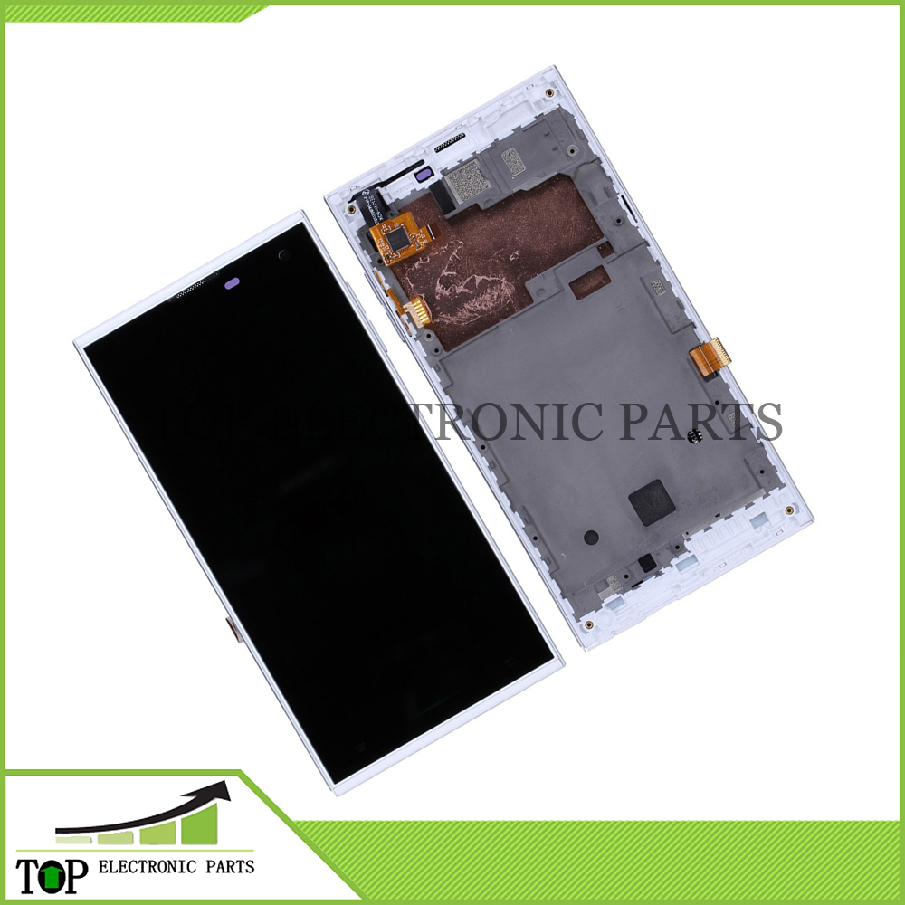 White Color Original 5.0 inch HD IPS Inew V7 V 7 Smartphone LCD Screen Display + Touch Panel Glass With Frame Repair Replacement