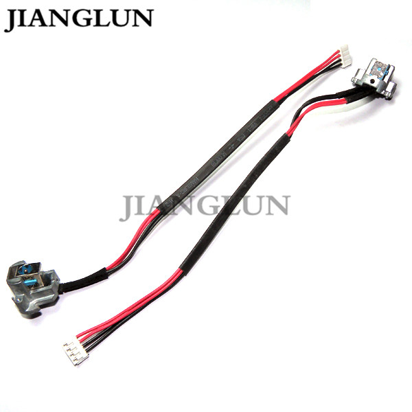 JIANGLUN 5X New DC Power Jack With Cable Harness For ACER