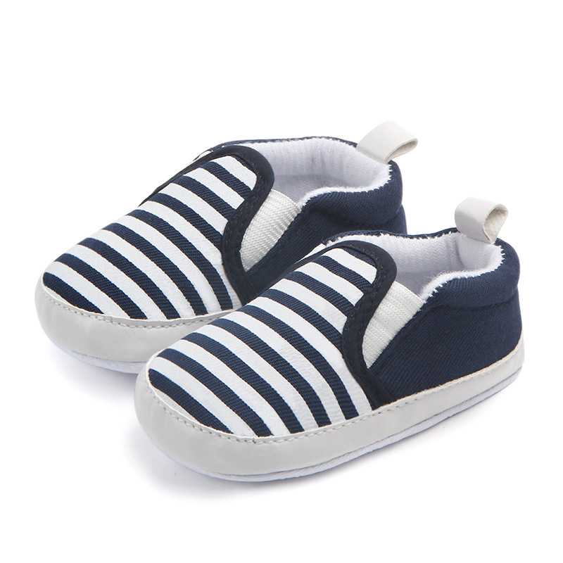 Брендовые Детские Обувь для мальчиков Обувь Нескользящие Полосатый малышей Обувь для малышей Bebes Zapatos ninas новорожденных Infantil