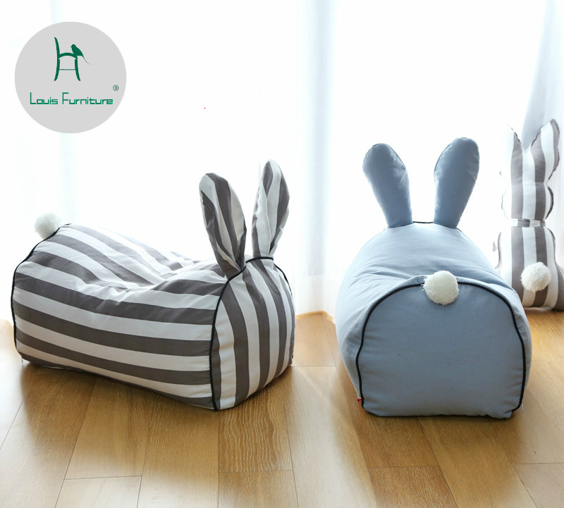 Louis Fashion Children's Sofa Cartoon Baby Lazy Baby Toy Cute Boy Princess Rabbit Sofa Modern