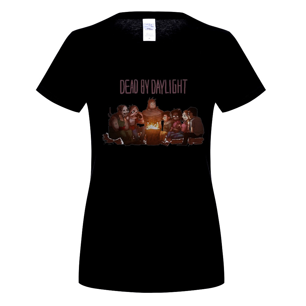 GILDAN Dead by Daylight Logo Cotton O-Neck Priting Pattern Short Sleeve T-shirts Tee Shirts