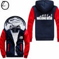 Wholesale The Walking Dead Thicken Coat Hoodie Zombie Daryl Dixon Wings Winter Fleece Men's Sweatshirts M-4XL