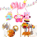 Baby Pram Bed Around Soft Hanging Toy Beetles Elephant Rattle Mobile Musical Plush Toy