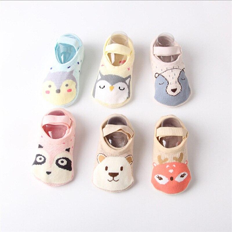 PUDCOCO 1Pairs Toddler Sock Shoe Soft Baby Non-Skid Slipper Anti-Slip Infant Girl Boy