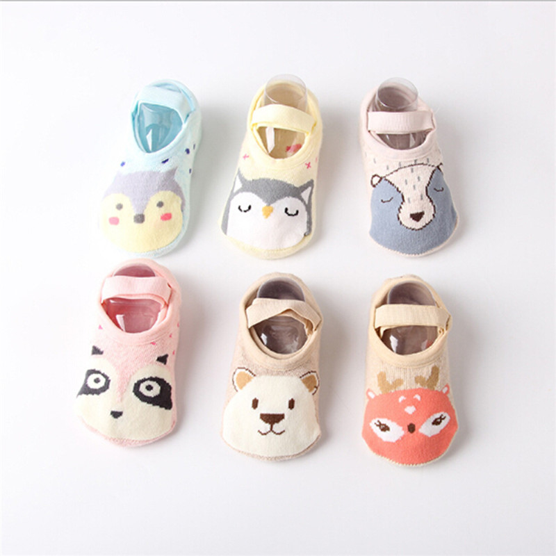 PUDCOCO 1Pairs Toddler Sock Shoe Soft Baby Non-Skid Slipper Anti-Slip Infant Girl Boy