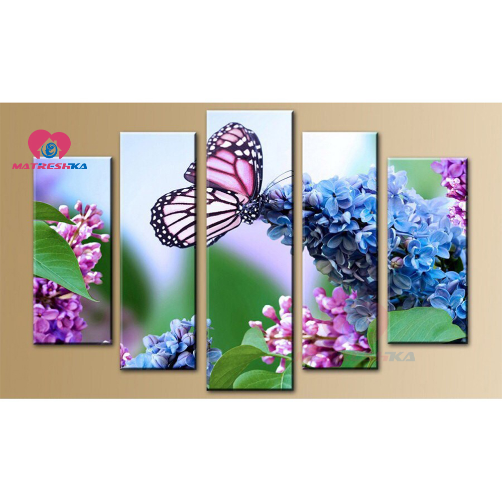 diamond painting butterfly diamond embroidery triptych diamond mosaic full square pictures of rhinestones home decor hobby
