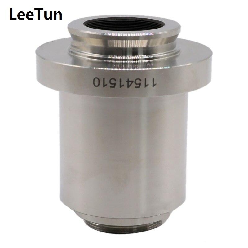 1X Microscope Phototube C-mount Adaptateur C Mont CCD Caméra Adaptateur Objectif pour Leica L'ISU DM Série Trinoculaire Microscope