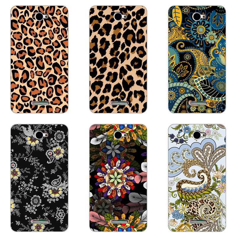 Soft TPU Case for Sony Xperia E4 Dual E2104 E2105 E2114 E2115 E2124 Paiting Back Cover Shell Patterned fitted Phone Case image