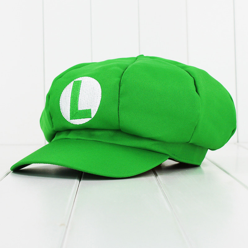 80cfe901ff5 Super Mario Octagonal Cap Sunbonnet Luigi Mario Bros Cosplay Hat Adult Men  Women-in Boys Costume Accessories from Novelty   Special Use on  Aliexpress.com ...