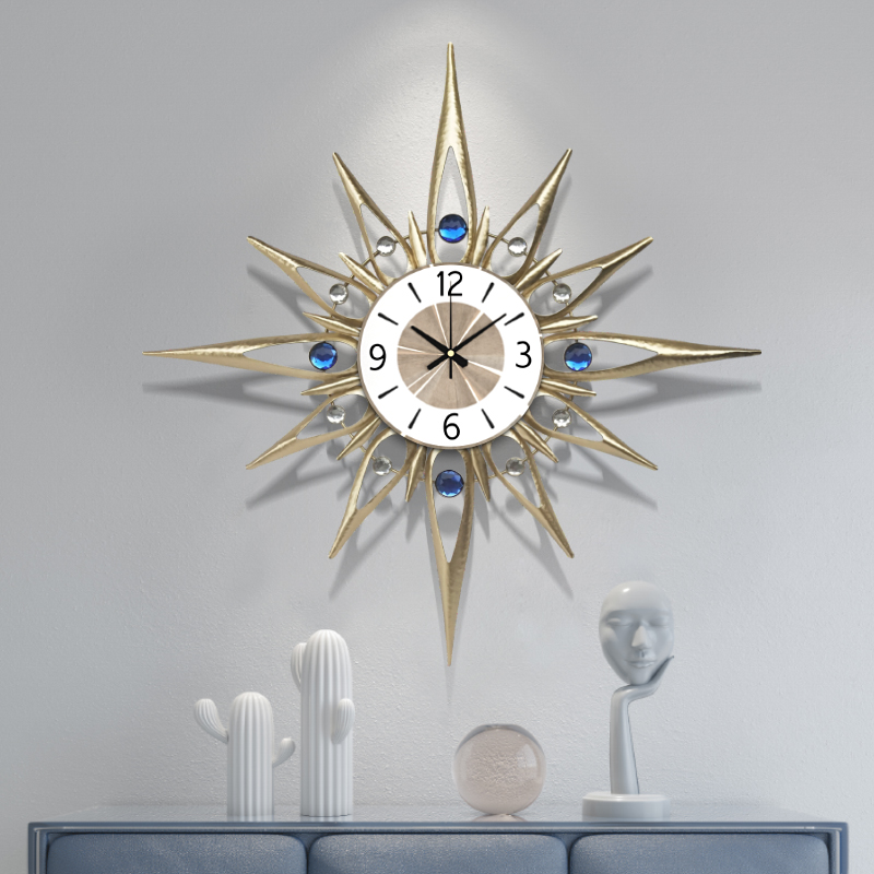 70cm Nordic Clock Wall Clock Modern Design Mute Clock Living Room Home Fashion Decorative Quartz Clock Big Clock on The Wall