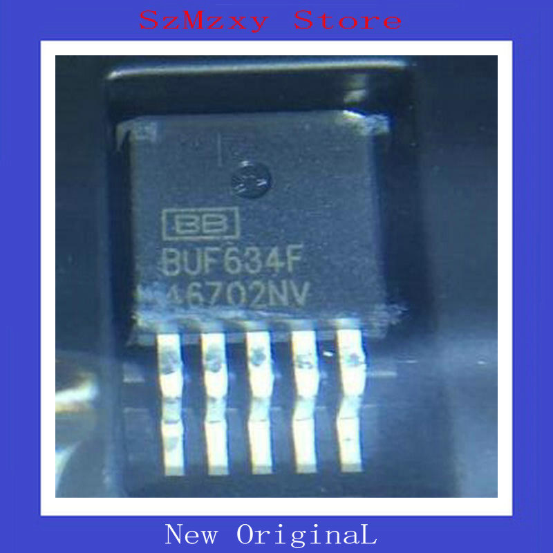 5PCS/LOT BUF634 250-mA High-Speed Buffer BUF634F/500E3 BUF634F BUF634FKTTT