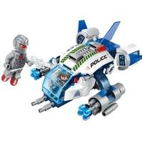 213pcs Space Adventure Airplane Bricks Toy Kids Toys Enlighten Aircraft Building Blocks Children DIY Creative Gifts