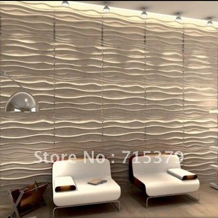 Top effetto onda pannelli di parete 3d per la decorazione domestica in  YV02