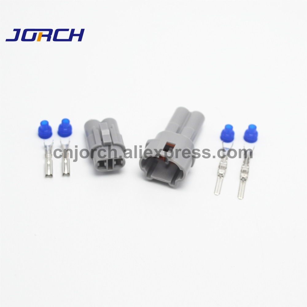 10sets 2Pin 2.0mm Sumitomo Auto Plug Waterproof Female Male Connector Kit 6187-2311 6180-2321 For Honda
