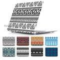 Moda de nova ethinc Tribal padrão rússia ar Retina 11 12 13 Pro 13 15 para Apple Macbook de cristal capa dura caso