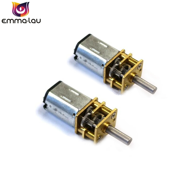 DC 6V/12V 30RPM 50RPM 100RPM 200RPM 300RPM <font><b>N20</b></font> Mini Micro Metal <font><b>Gear</b></font> <font><b>Motor</b></font> with Gearwheel DC <font><b>Motors</b></font> image