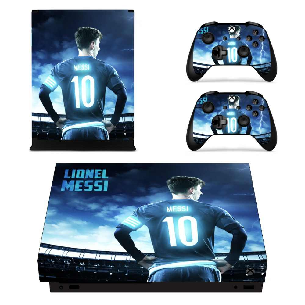 Lionel Messi Full Faceplates Skin Console & Controller Decal